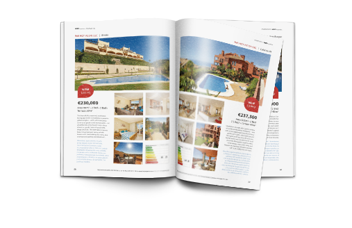 HOT Properties Magazin Immobilieninserat